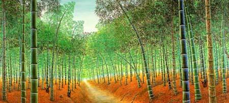 竹林(襖絵)